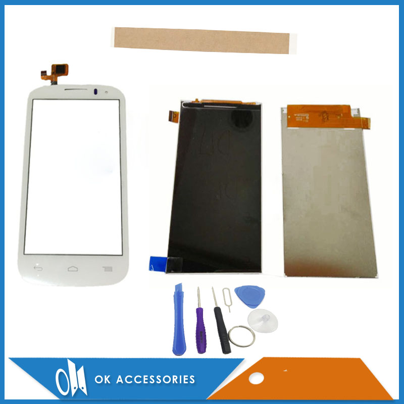 4.5 Inch For Alcatel One Touch POP C5 OT5036 OT5037 OT5038 5036D LCD Screen Display Touch Screen Separate 1PC/Lot