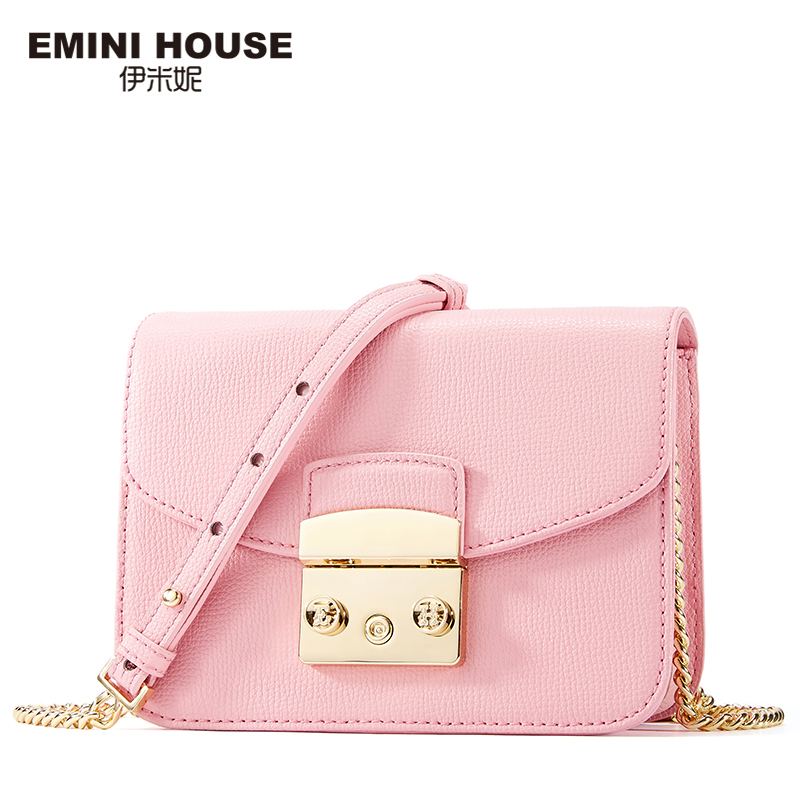 EMINI HOUSE Split Leather Flap Women Shoulder Bag Fashion Crossbady Bags High Quality Women Messenger Bag 4 Colors 2017 fashion all match retro split leather women bag top grade small shoulder bags multilayer mini chain women messenger bags