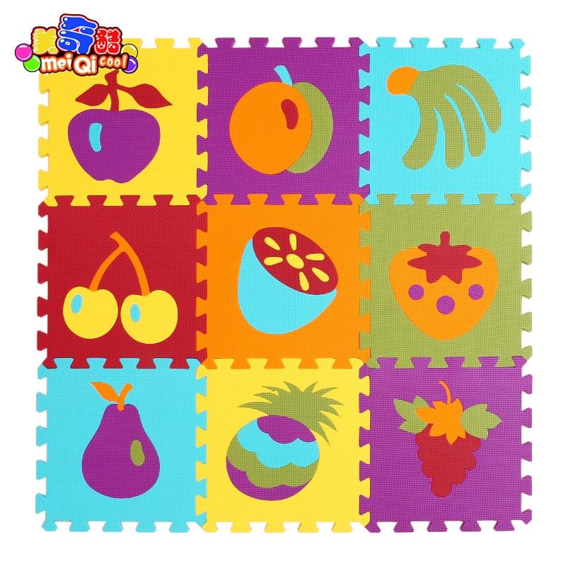 9pcs/set Foam Mat Baby Crawling Mat Childrenu0027s Rug Blankets Toys Bedroom  Children Anti