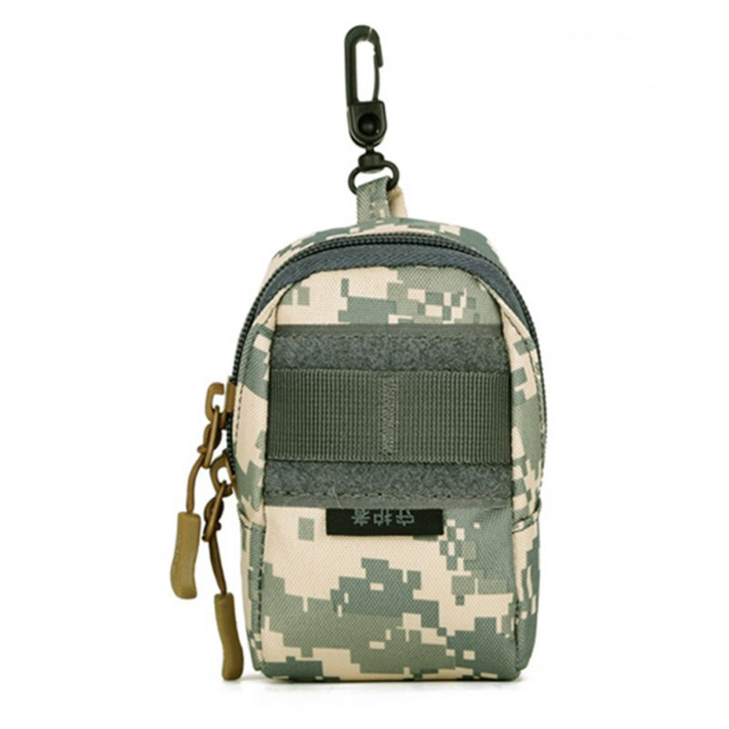 Outdoor Pockets Outdoor Camping Kit Accessory Deputy Bag Phone Package Small Tactical Package Camo Waist Belt Bag