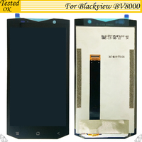100% Tested Working For Blackview BV8000 / BV8000 Pro LCD Display +Touch Screen Digitizer Assembly For Blackview BV 8000 LCD