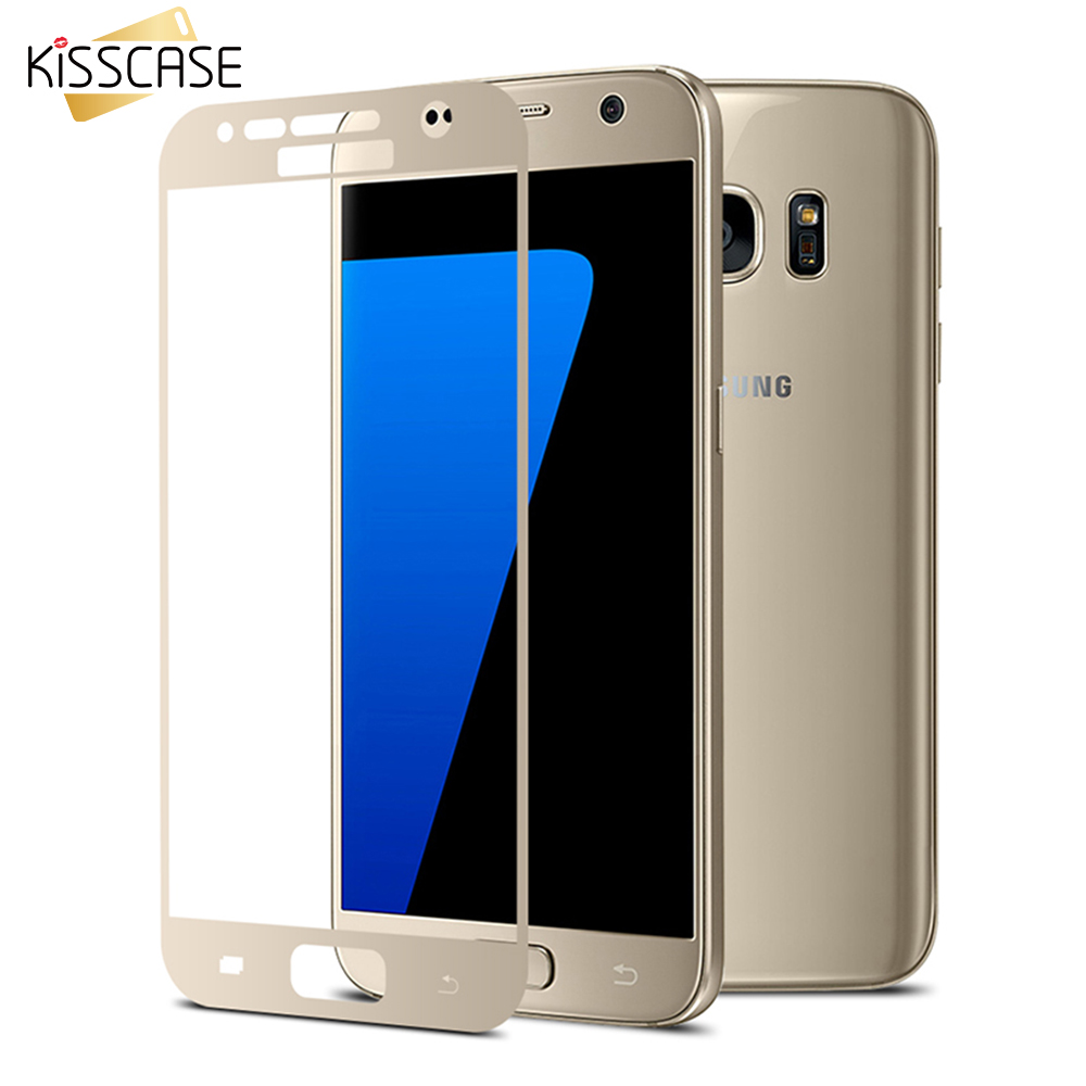 KISSCASE For S7 S7 edge Arc Edge Full Screen Protector For ...