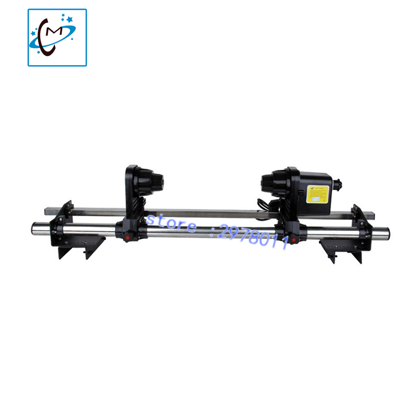 Фото Large format printer paper take up system auto take up reel system for Mimaki JV3 JV33 JV5 JV2 JV4 series printer paper receiver