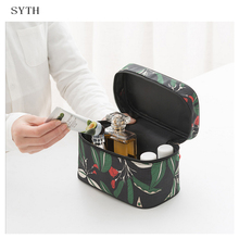 SYTH Portable Small Cosmetic Storage Bag Waterproof Travel Makeup Organizer Case Fashion Women Toiletry Bag все цены