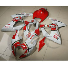 Red ABS Fairing Bodywork Kit For SUZUKI GSXR600 750 GSXR 600 750 06-07 K6 24B