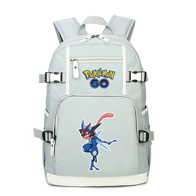 High Quality Cartoon Mewtwo Greninja Printing Backpack Pocket Monster Pokemon School Bags Canvas Laptop Backpack Rucksack 2017 printing owl backpack good quality canvas backpack college school backpack flowers women rucksack backpack mochila t20
