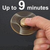 Rainbow Hand Spinners Golden Snitch Fidget Spinner Gold Heart Finger Spinner Brass Fidger Figit Figet Spiner