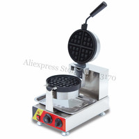 Nonstick Waffle Maker Commercial Waffle Machine L handle 220V/110V Snack Food Equipment