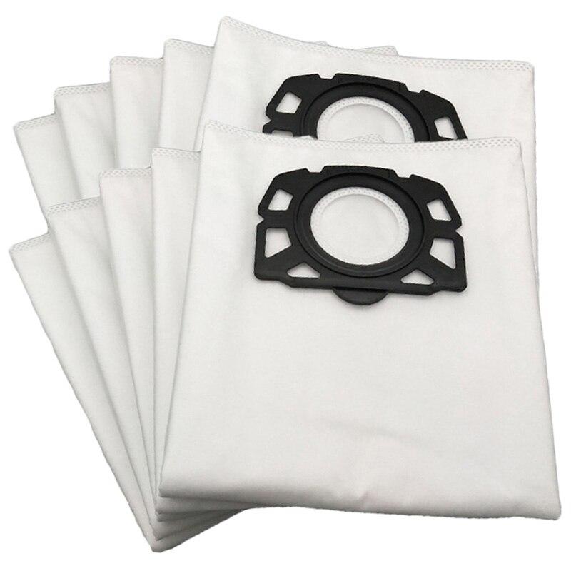 12 Pieces/Lot Dust Bag Vacuum Cleaner Dust Bag For Karcher Mv4 Mv5 Mv6 Wd4 Wd5 Wd6 Washable Vacuum Cleaner Bag