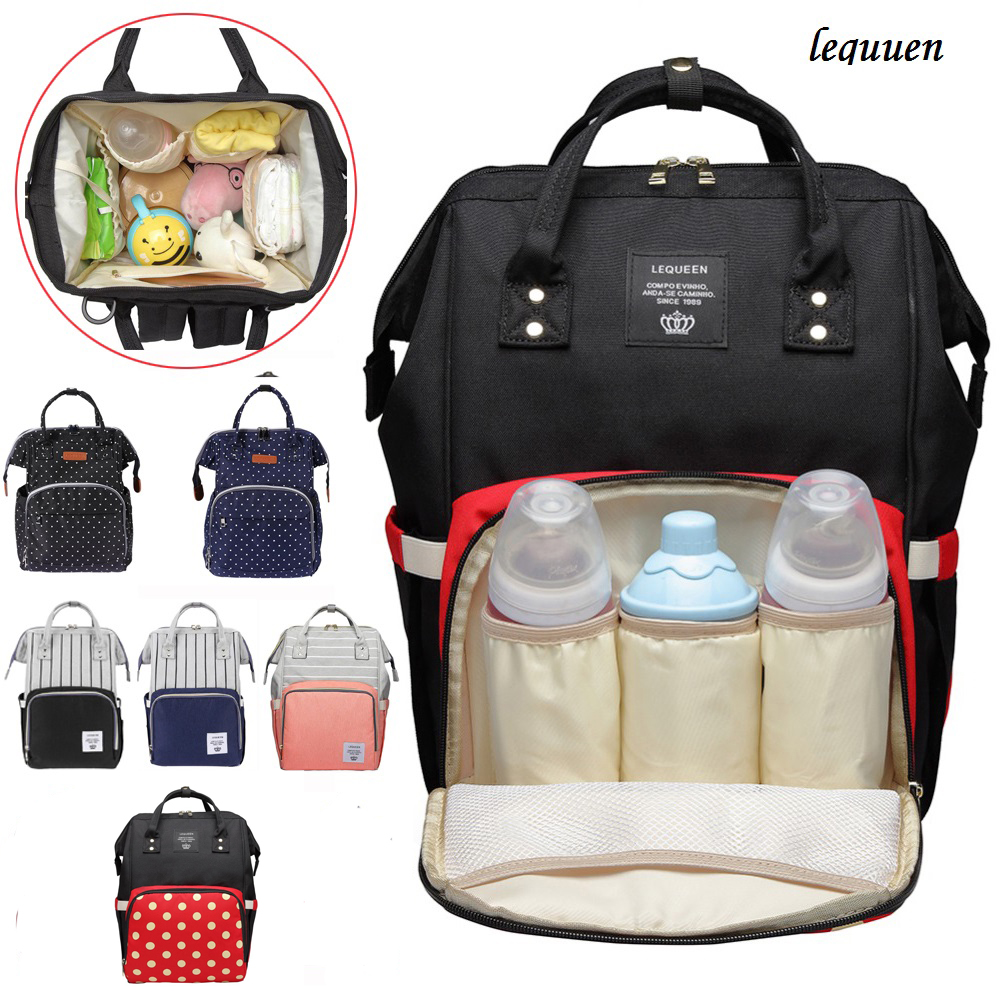 Mummy Maternity Nursing Diaper Bag Baby Care Stroller Carriage Large Capacity
