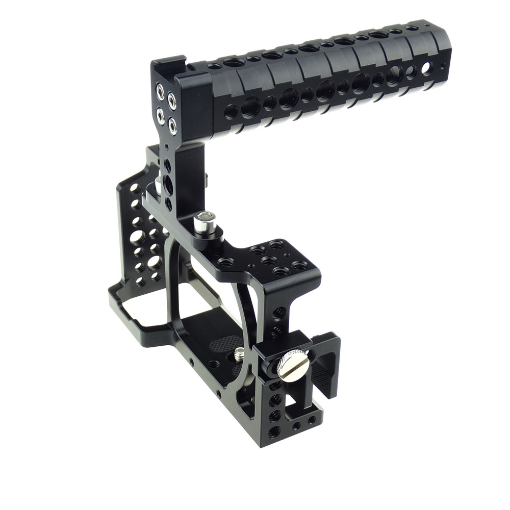 ACCSTORE Camera Cage Kit for Sony A6000/ A6300/ A6500/ ILCE-6000/ ILCE-6300/ ILCE-6500/ NEX7 - 503 sony ilce 6000 a6000y a6000 24 3 mp digital camera body