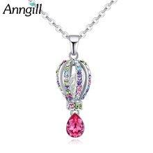 Женские ожерелья и кулоны с романтическими кристаллами swarovski