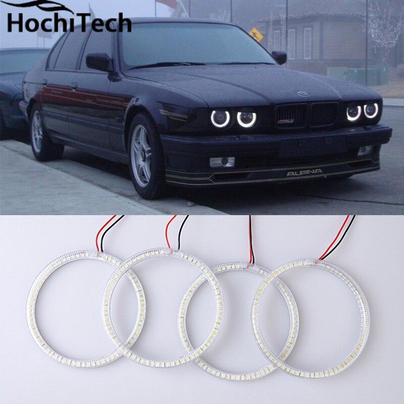Горячий стиль светодиодов SMD глаза ангела супер яркий белый из светодиодов гало света-комплект для BMW Е30 Е32 Е34 1984 1985 1986 1987 1988 1989 1990