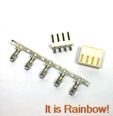 ФОТО 200 Sets VH 3.96mm Connector 4 pins Housing/Base/Pins