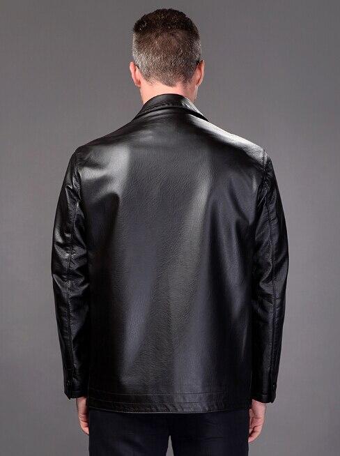 3df87a09dab ... new! плюс размер 2xl кожаная куртка мужчины кожаное пальто 2017 весна мужские  куртки пальто повседневная
