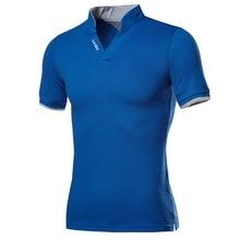 Oeak, хлопковая Мужская рубашка поло, топы, модная, размера плюс, короткий рукав, черная, белая, рубашка поло, сексуальная, стоячий воротник, Homme Camisa 4XL 5XL