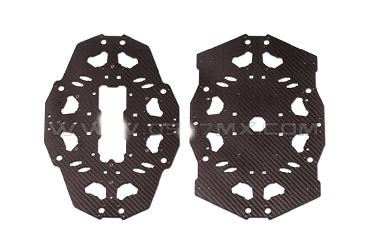 F08159 Tarot T18 Aerial Photography Plant Protection UAV Carbon Fiber Cover Plate Board TL18T03 садовая химия zi jane plant protection station 38 200g 80%