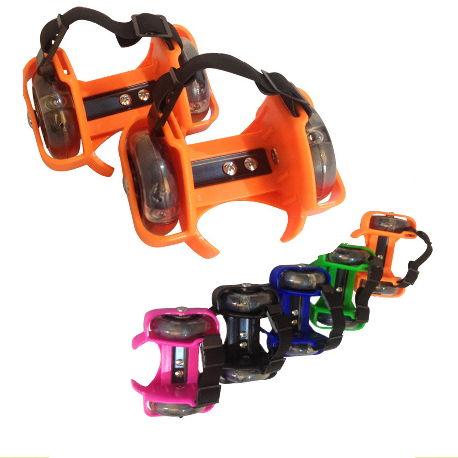 Prix pour Flash Roue skate chaussures sports de plein air Flash Emballement Poulie Roue Volante Chaussures Lumineux Lumière De Roue Chaussures À Roulettes pour les Enfants