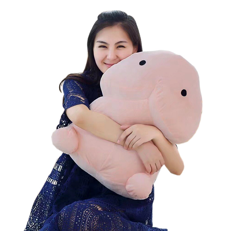 1pc 30/50cm Kawaii Plush Penis Toy Doll Soft Stuffed Simulation Penis Pillow Cute Sexy Creative Toy Gift For Girlfriend