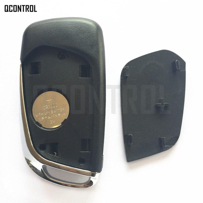 QCONTROL Upgraded Remote Key Suit for CITROEN C3 Picasso (2006 - 2010) / C3 Plueriel (2006 - 2009)