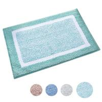 Bathroom Rug Mat, Ultra Soft and Water Absorbent Bath Rug, Shower Mats, Machine Wash/Dry, for Tub, Shower, and Bath Room17x24