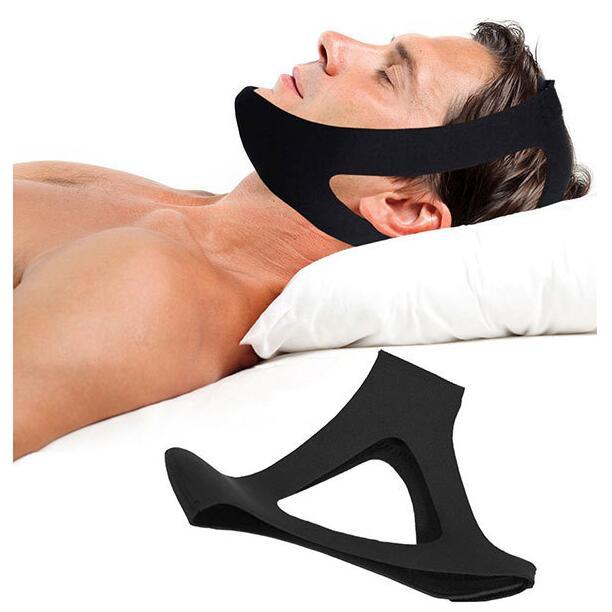 Anti Snore Chin Strap Sleep Stop Snoring Snore Belt Apnea Chin Support Straps for Woman Man Night Sleeping silencer Tools right