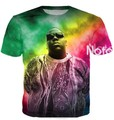 Women Men Fashion Clothing  Tops Tie Dye tees Notorious B.I.G. Biggie Smalls 2Pac Tupac 3d T-Shirt Summer Style Plus Size