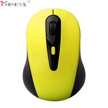 Mosunx Advanced mouse  2.4G Wireless gaming mouse Mice Optical Mouse Cordless USB Receiver PC Computer  For Laptop  1PC