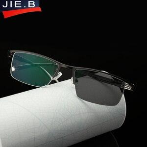 Image 5 - Myopie lunettes de soleil photochromiques, finition, monture, avec lentille de couleur, pour hommes et femmes, lunettes myopes 1.0  1.5