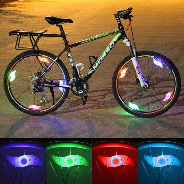 5Pcs/Lot Outdoor MTB Bike Decorate Lamp Bicycle Spokes Lamp Cycling ...