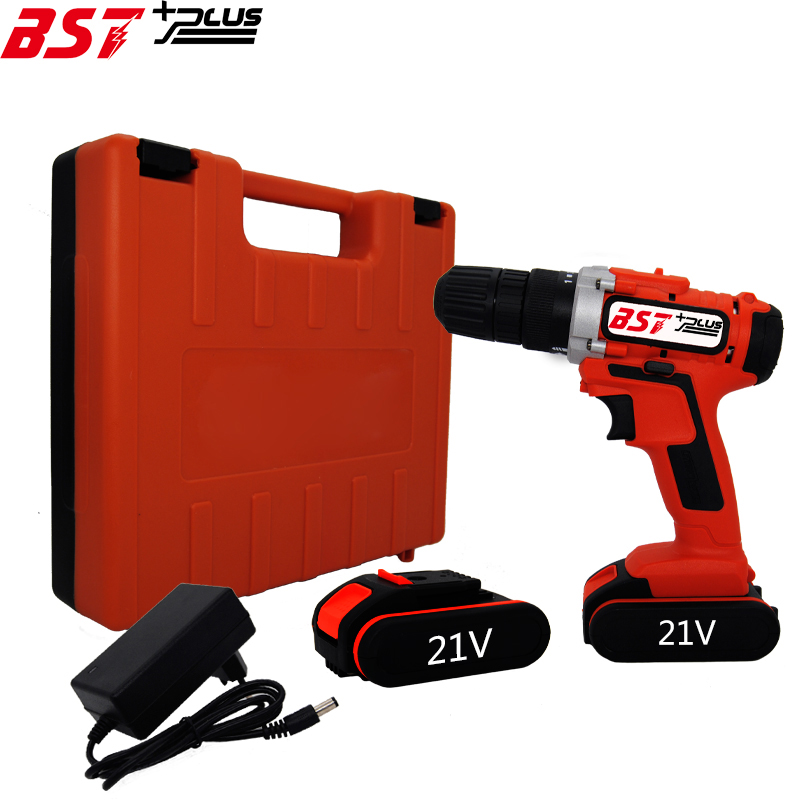 BATTERY INDICATOR BST+PLUS(FIFTH STYLE )21V LITHIUM-ION BATTERY CORDLESS DRILL ELECTRIC SCREWDRIVER DRIVER WRENCH POWER TOOLS цены