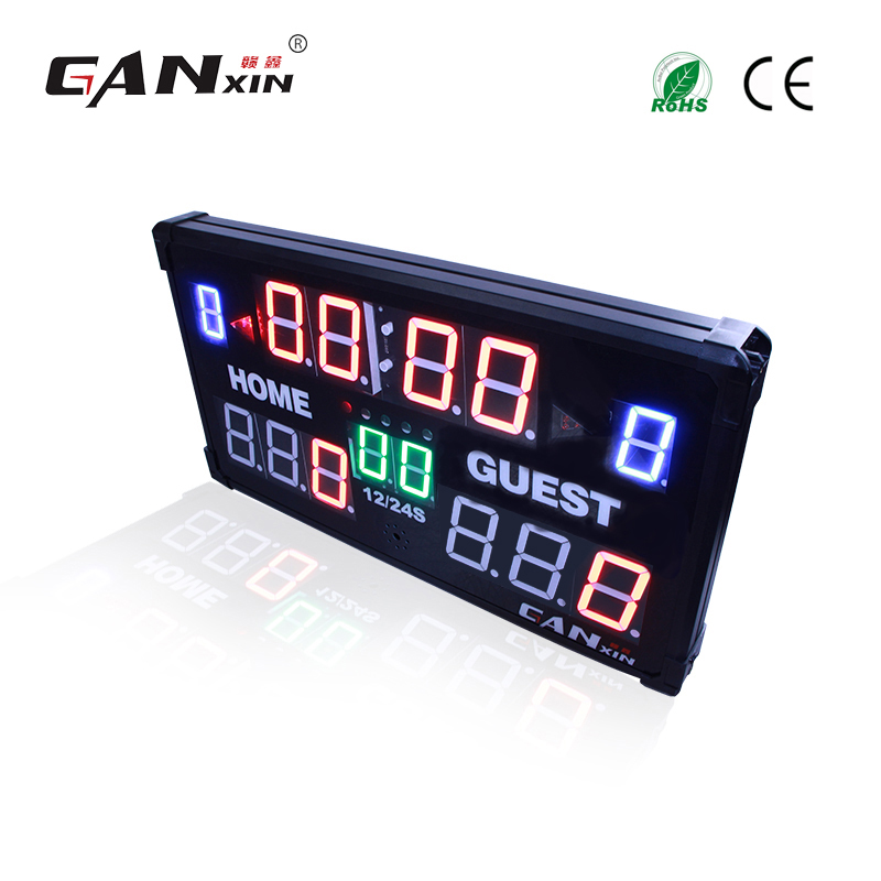 11fbd792e2a  GANXIN  display Led placar futebol com controle Remoto em Relógios de  parede de Home   Garden no AliExpress.com
