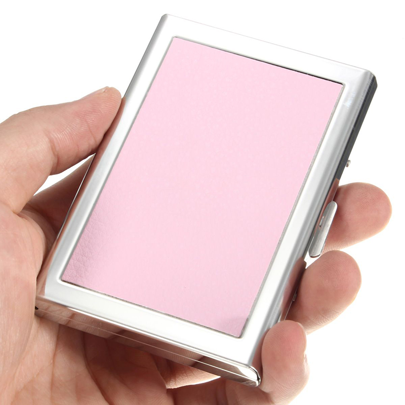 DCOS Waterproof Stainless steel Business ID Credit Card Wallet Holder Case Box Purse ...