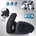 V8 Interfones Capacete Fone de Ouvido Fone De Ouvido do Capacete Da Motocicleta Do Bluetooth Interfone 5 Pilotos fone de Ouvido Bluetooth Rádio FM Controle Remoto