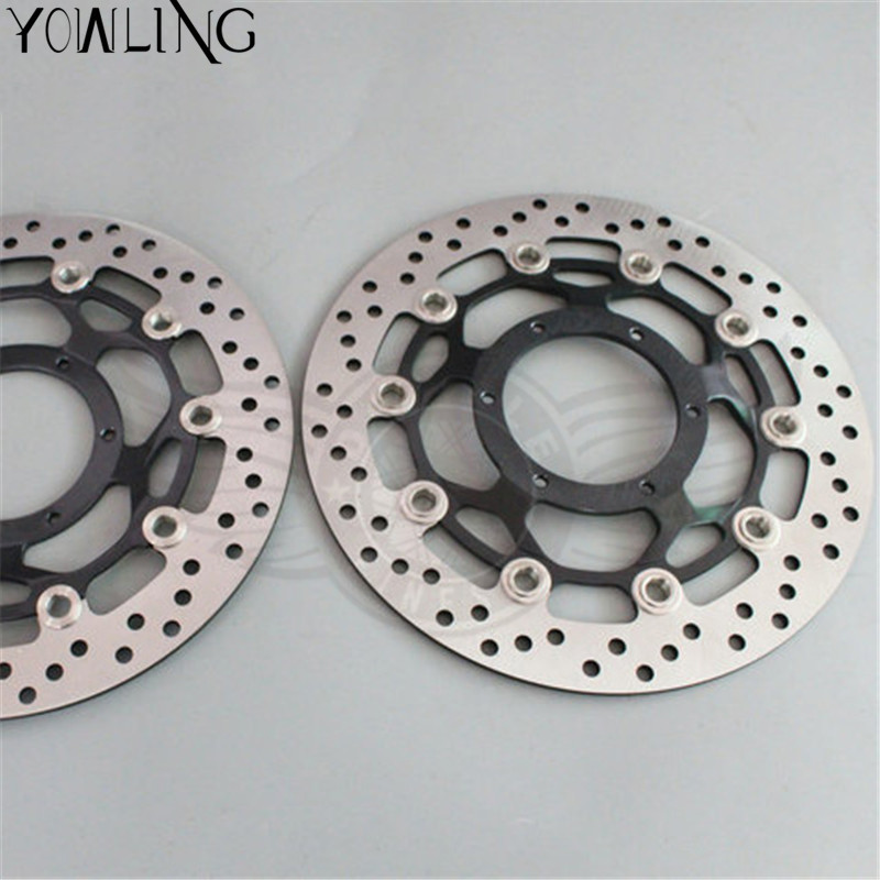 2 pieces motorcycle Front Brake Disc Rotor for Honda CBR600RR 2003 2004 2005 2006 2007 2008 2009 2010 2011 2012 2013 2014 19mm motorcycle cnc racing front fork preload adjusters green for honda cbr600rr 2007 2010 cbr1000rr 2008 2010 cb1000r 2008 2009