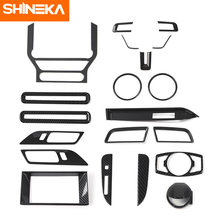 Молдинги для салона автомобиля shineka наклейки из углеродного