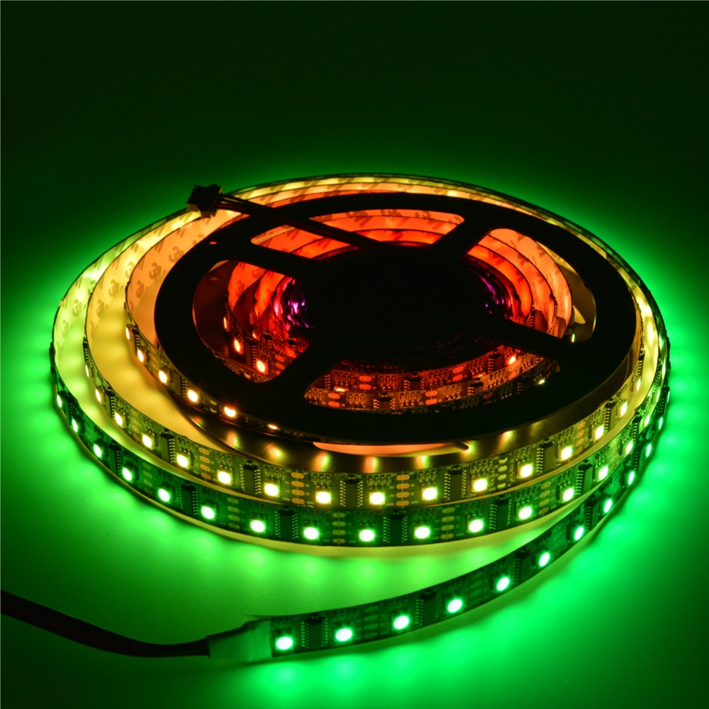 50m Lpd8806 5050 Rgb Digital Addressable Dream Full Color Pixel Led 3528 Light Strips Cable Wire Ws2801 Strip 60leds M Ip30 Non Waterproof Black White Pcb 5v In From Lights