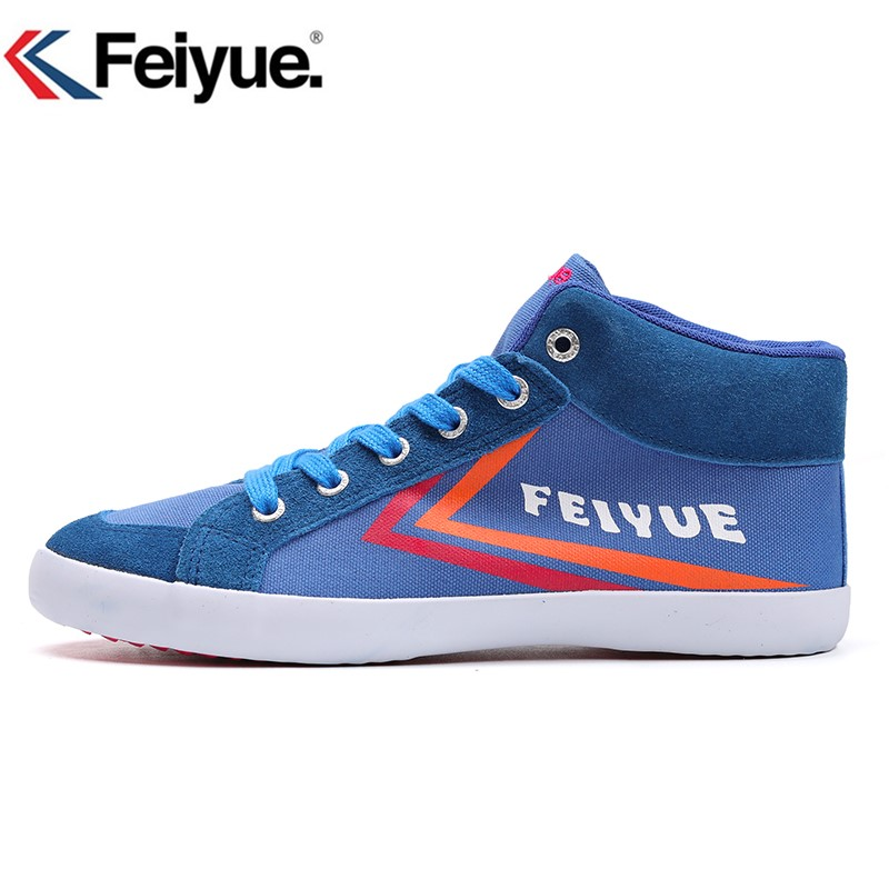 High-top Feiyue shoes/Keyconcept classical Feiyue Shoes/Red sneakers/Men and Women Size/soft and comfortable