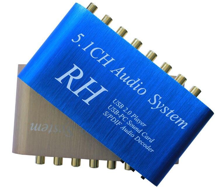 Al36 USB цифровой звук/media player, 5.1ch аудио Системы, DTS/ac3 S/PDIF аудио декодер для 5.1 канальный усилитель