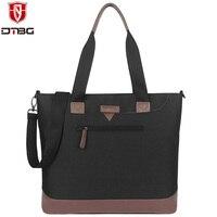 DTBG 15 15 6 Inch Notebook Handbag College Office Laptop Briefcase Tote Computer Messenger Shoulder Bag
