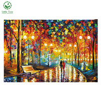 NEW DIY 3D Diamond Painting Colorful World Abstract Oil Paint Full Square Drill Decor Mosaic Embroidery