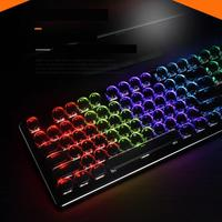 SeenDa Wired Gaming Mechanical Keyboard Gaming Keyboard RGB Backlit Switch 104 Key Keyboard for Gamer PC Laptop Russian English