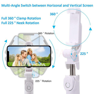 Image 4 - 3 in 1 Handheld Bluetooth Selfie Stick For iPhone X 8 7 6s plus Wireless Remote Shutter Monopod Portable Extendable Mini Tripod