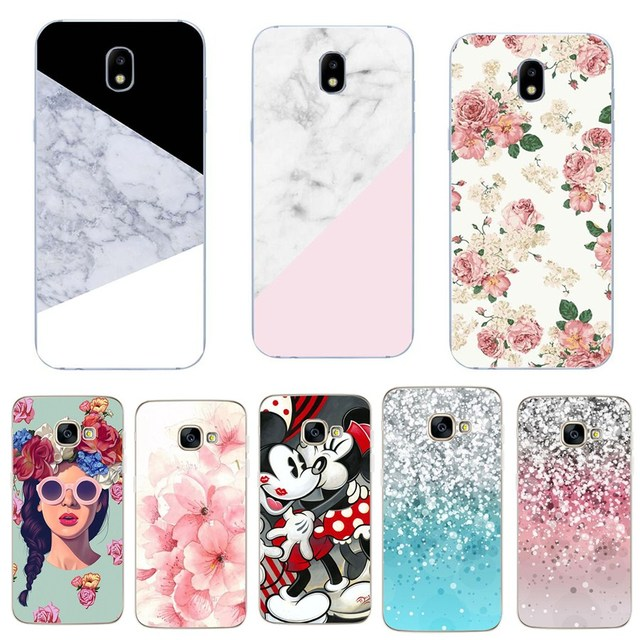 wholesale dealer cc11a 559ba US $0.64 31% OFF|Silicone Cover For Samsung Galaxy J5 2017 J530F Cases J5  Pro 5.5