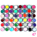 Yaoshun 48pcs Long Lasting UV Gel Professional UV Gel Varnish Nail Art Salon