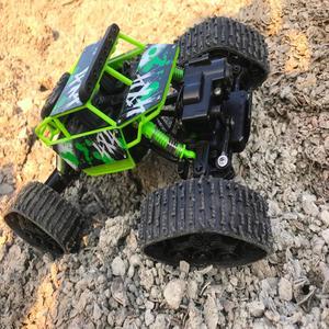 Image 5 - 4WD 2.4 Ghz التحكم عن بعد سيارة الحقل من ثلج روك الزاحف سيارة