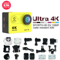 Original Eken H9 câmeras de Ação Ultra HD 4 K WiFi 1080 P/60fps 2.0 LCD 170 Video Cam lente ir câmera à prova d' água original pro sj 4000