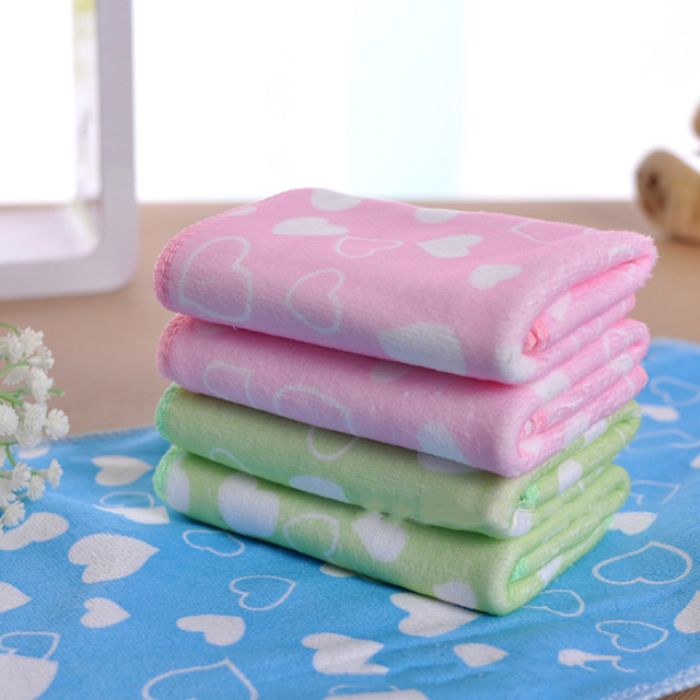 Nuovo stile 25*50 cm morbida microfibra assorbente towel stampa bambino mano & f