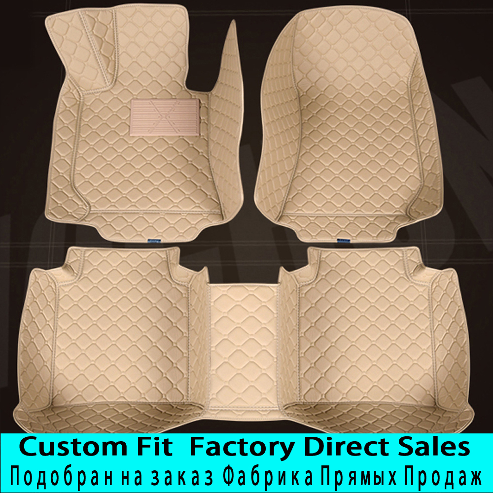 SUNNYFOX  car floor mats for Hyundai Verna Accent Solaris Tucson ix35 Santa Fe foot case rugs full cover car styling linersSUNNYFOX  car floor mats for Hyundai Verna Accent Solaris Tucson ix35 Santa Fe foot case rugs full cover car styling liners