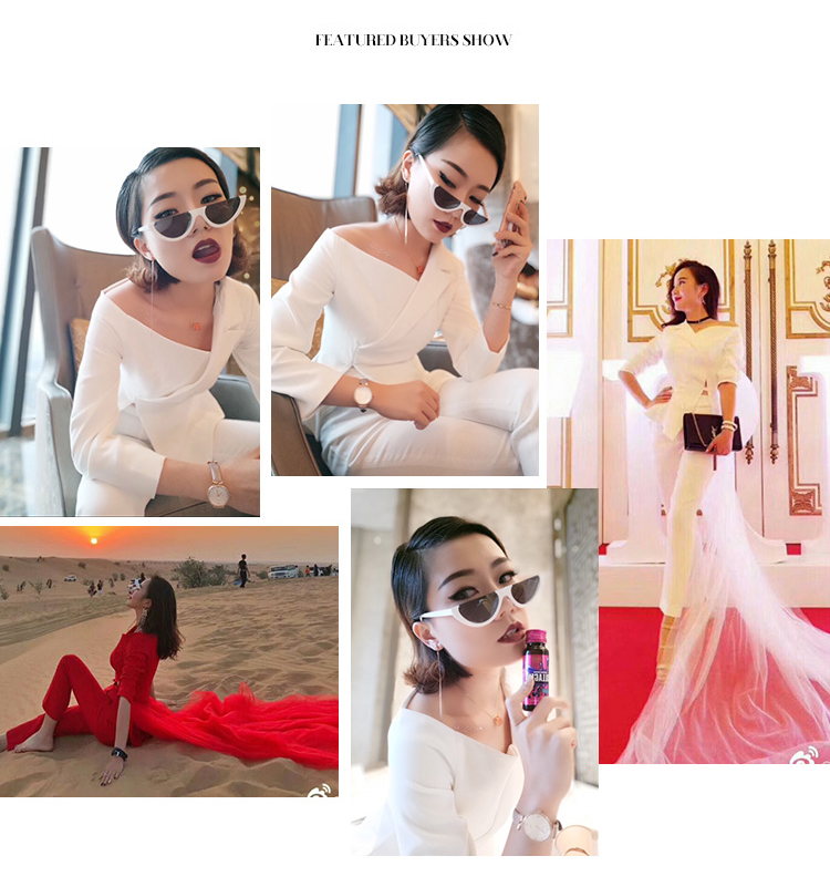 High quality women suits pants suit Irregular white suit fashion OL jacket body building 2 pieces suit wedding suit with veil in Pant Suits from Women 39 s Clothing